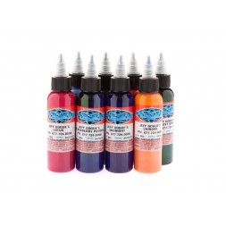 Fusion Tattoo Ink Artist Colour Set , Jeff Gogue (30ml 1oz)